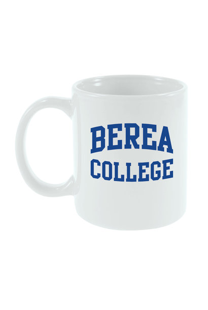 White Berea College Mug