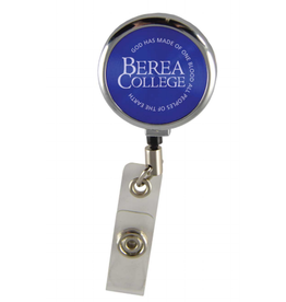 ID Holder, Berea College, Blue, Retractable