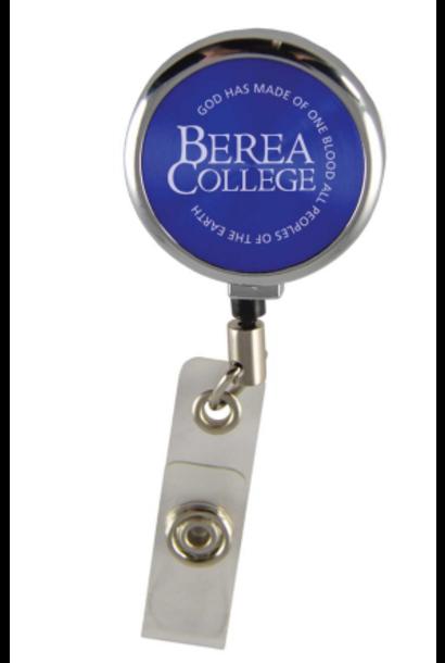 ID Holder, Berea College, Blue, Retractable