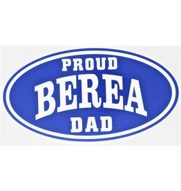 CDI Proud Berea Dad Decal