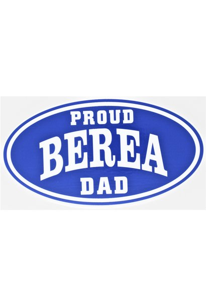 Proud Berea Dad Decal