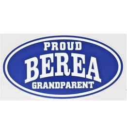 CDI Proud Berea Grandparent Decal