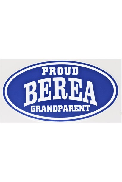 Proud Berea Grandparent Decal
