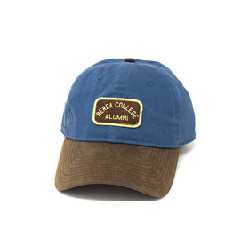 MV Sport Ball Cap, Berea College Alumni, Strap, Blue and Brown