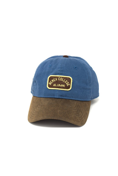 Ball Cap, Berea College Alumni, Strap, Blue and Brown
