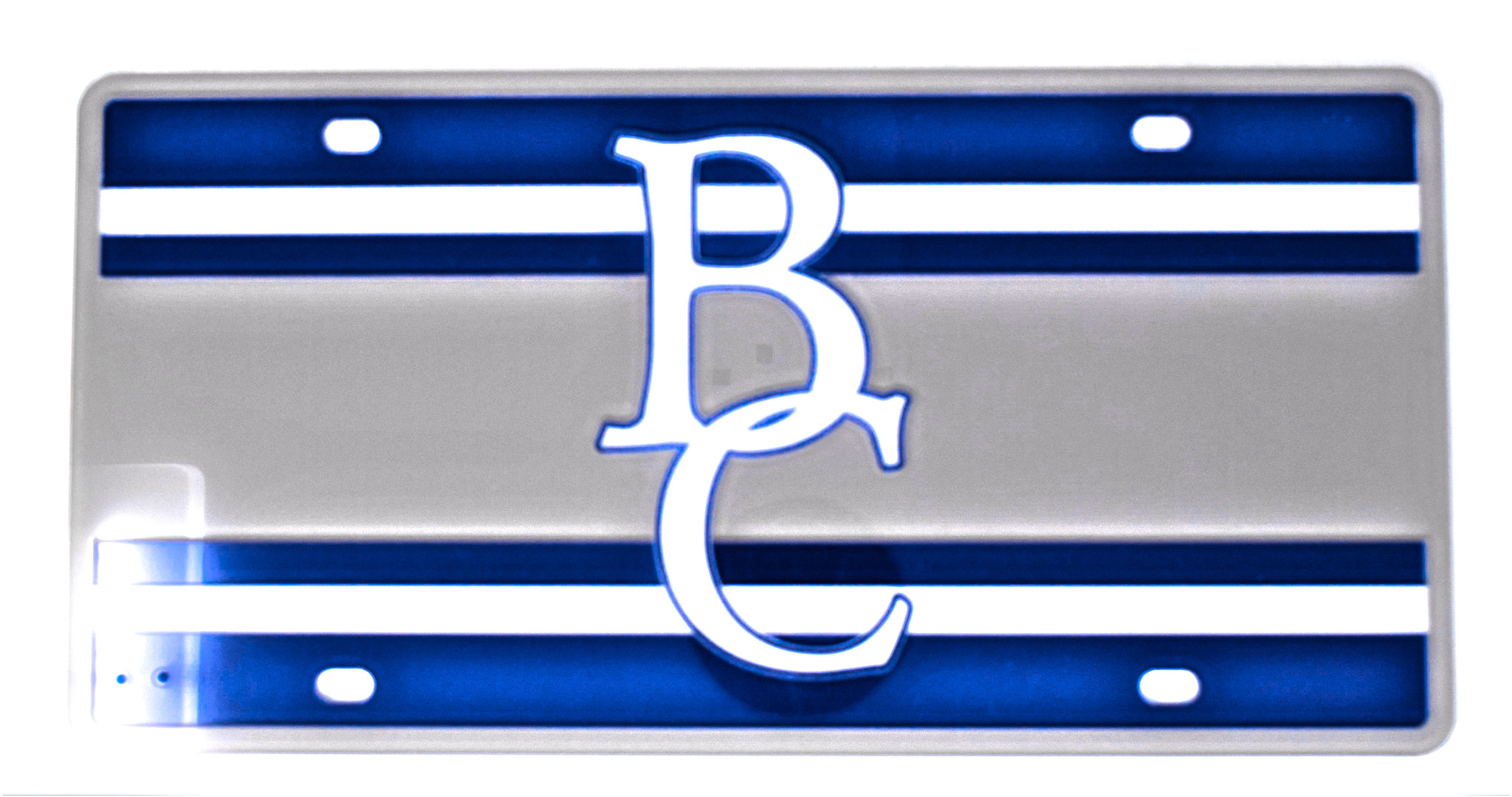 BC Stripped License Plate-1