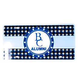 Stockdale Alumni Hounds-Tooth License Plate