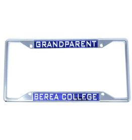 Laser Magic License Plate Frame, Berea College Grandparent