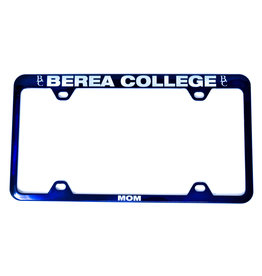 License Plate Frame, Blue, Berea College