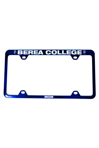 Berea Mom License Plate Frame