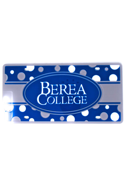 Berea College Polka Dot License Plate