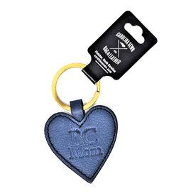 Keychain, Navy, Heart, BC Mom