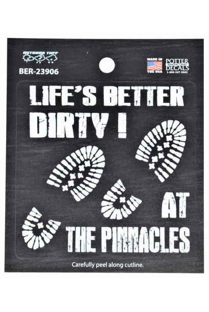 Life is Better at the Pinnacles Decal