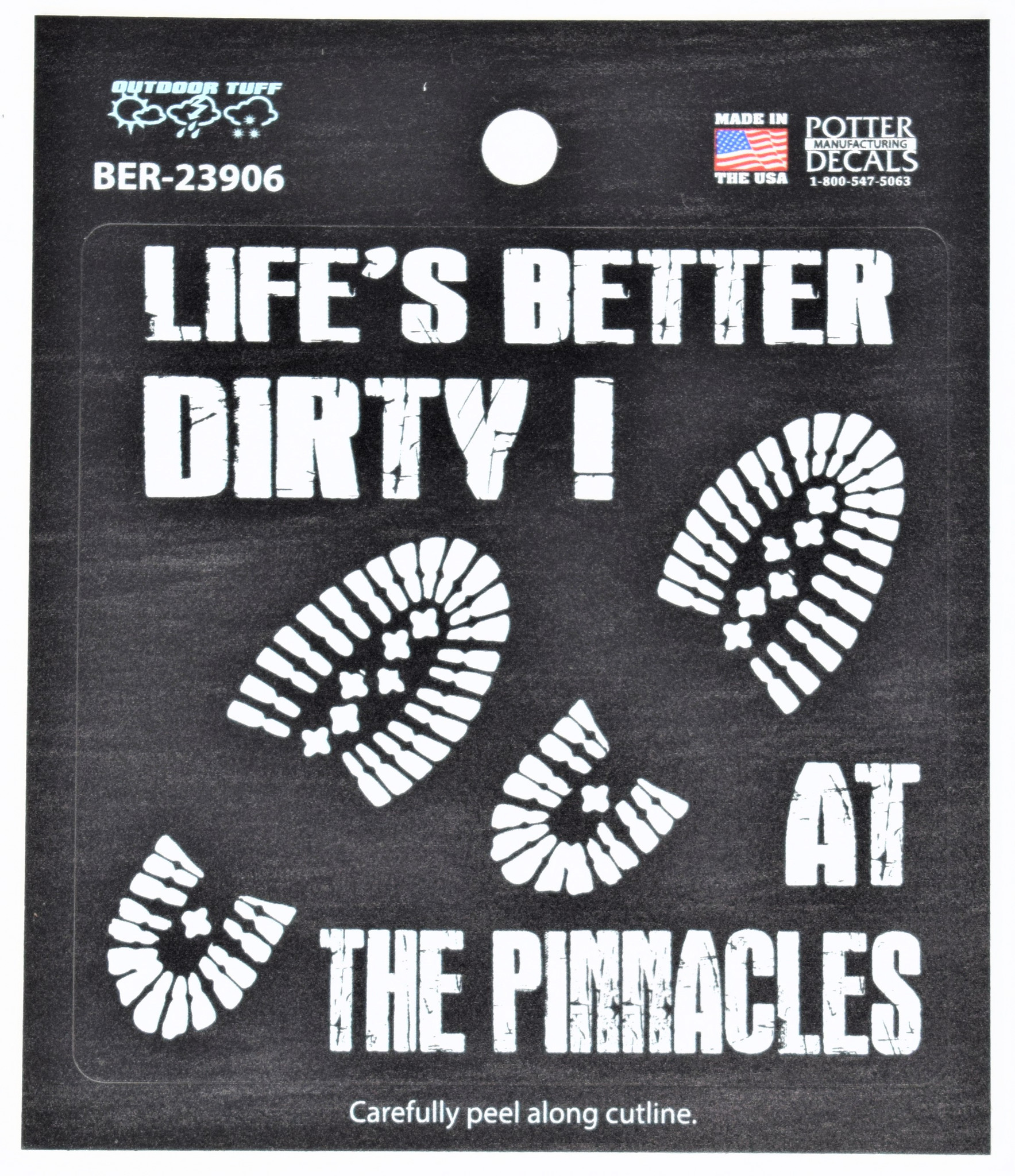 Life is Better at the Pinnacles Decal-1