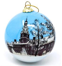 MCM Group Hand-painted Draper Bulb Ornament