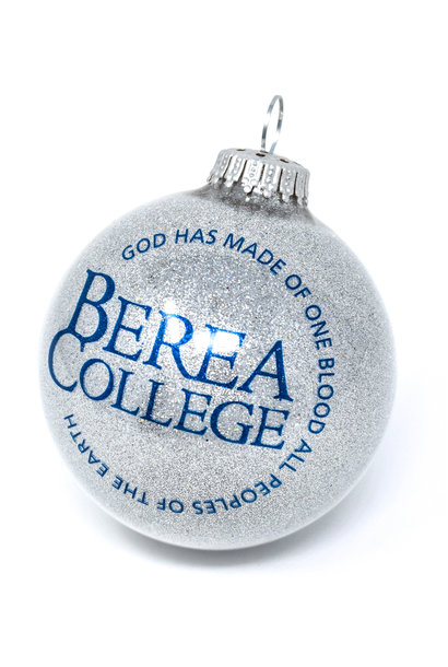 Gray Circle Logo Ball Ornament
