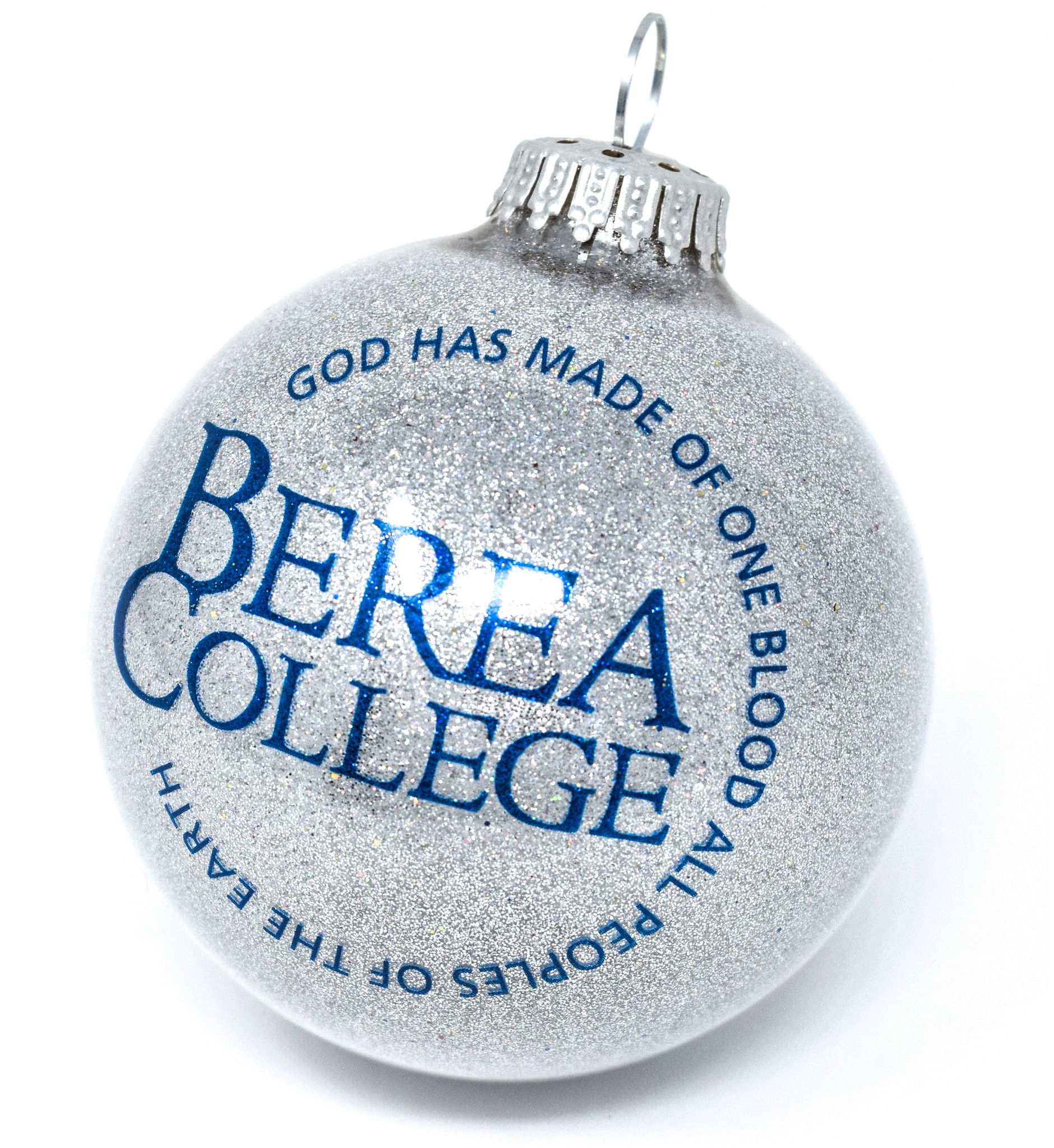 Gray Circle Logo Ball Ornament-1