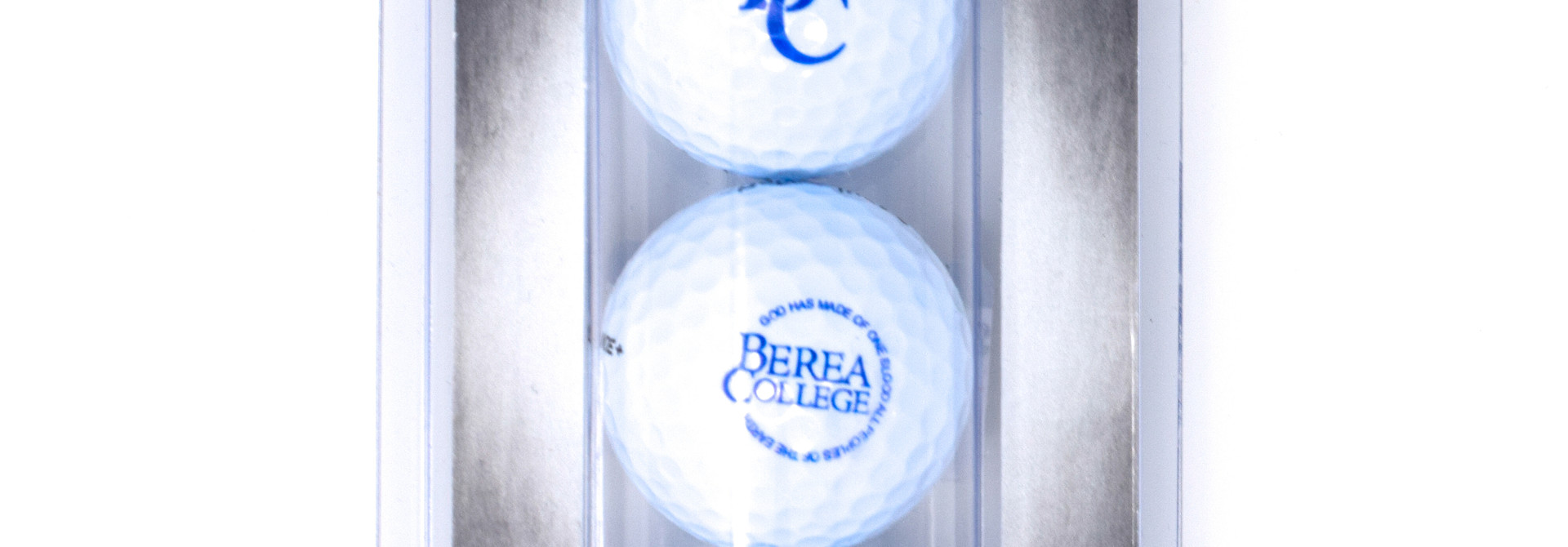 Berea College 3 pack Golf Balls