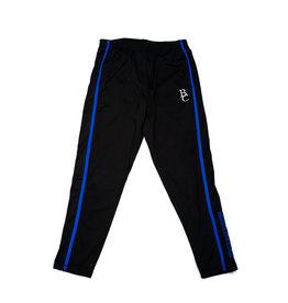 Colosseum Sweatpants,Black w/ Blue Stripes,BC
