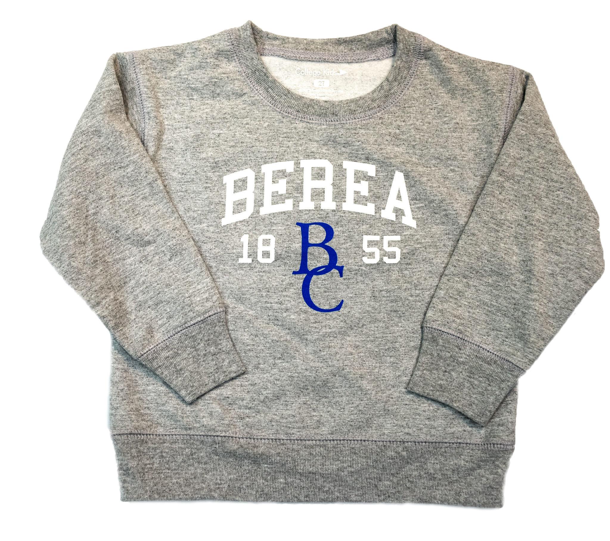 Pullover,Youth,Gray,Berea
