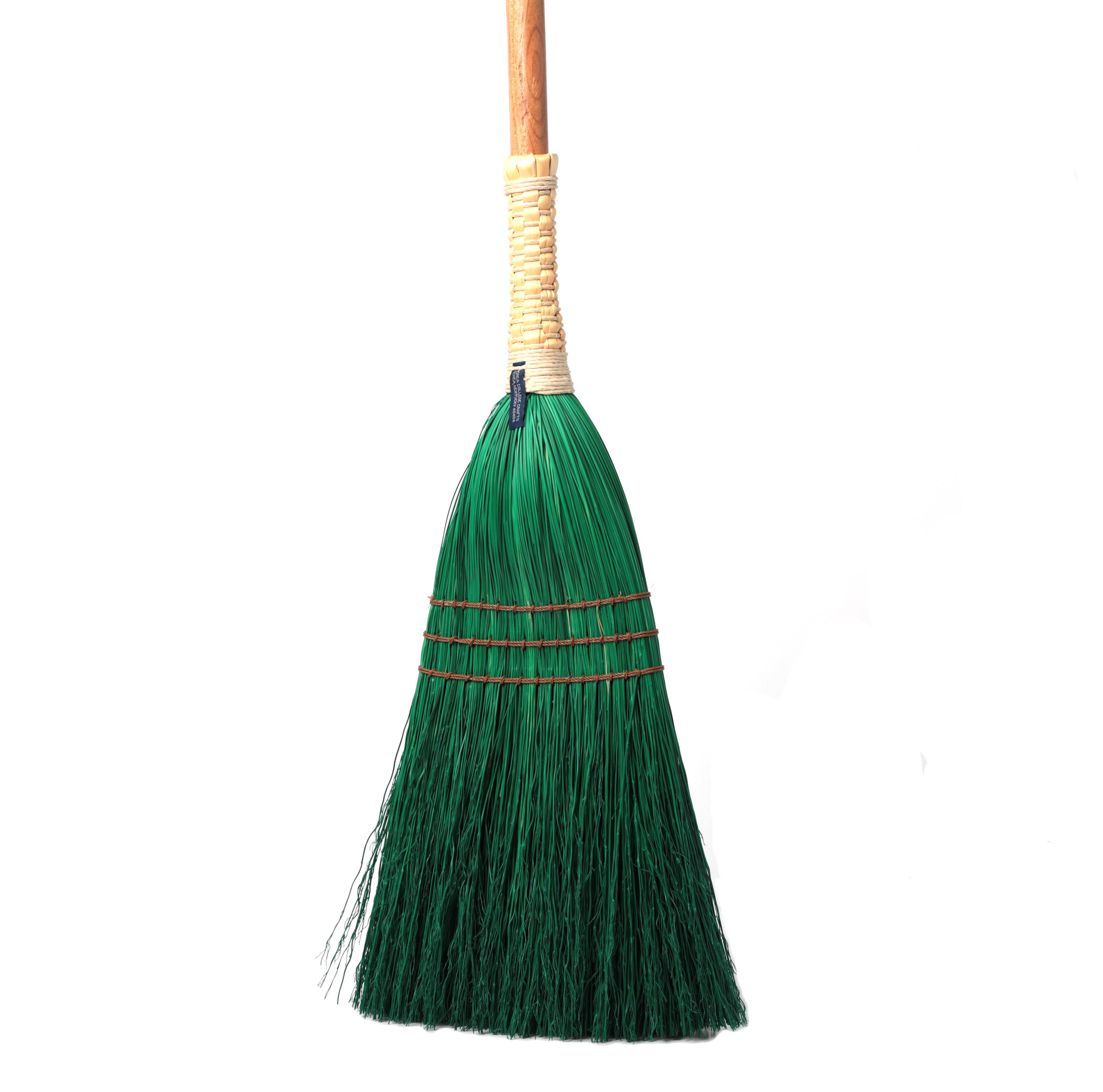 Shaker Braid Broom - Turned Handle-3