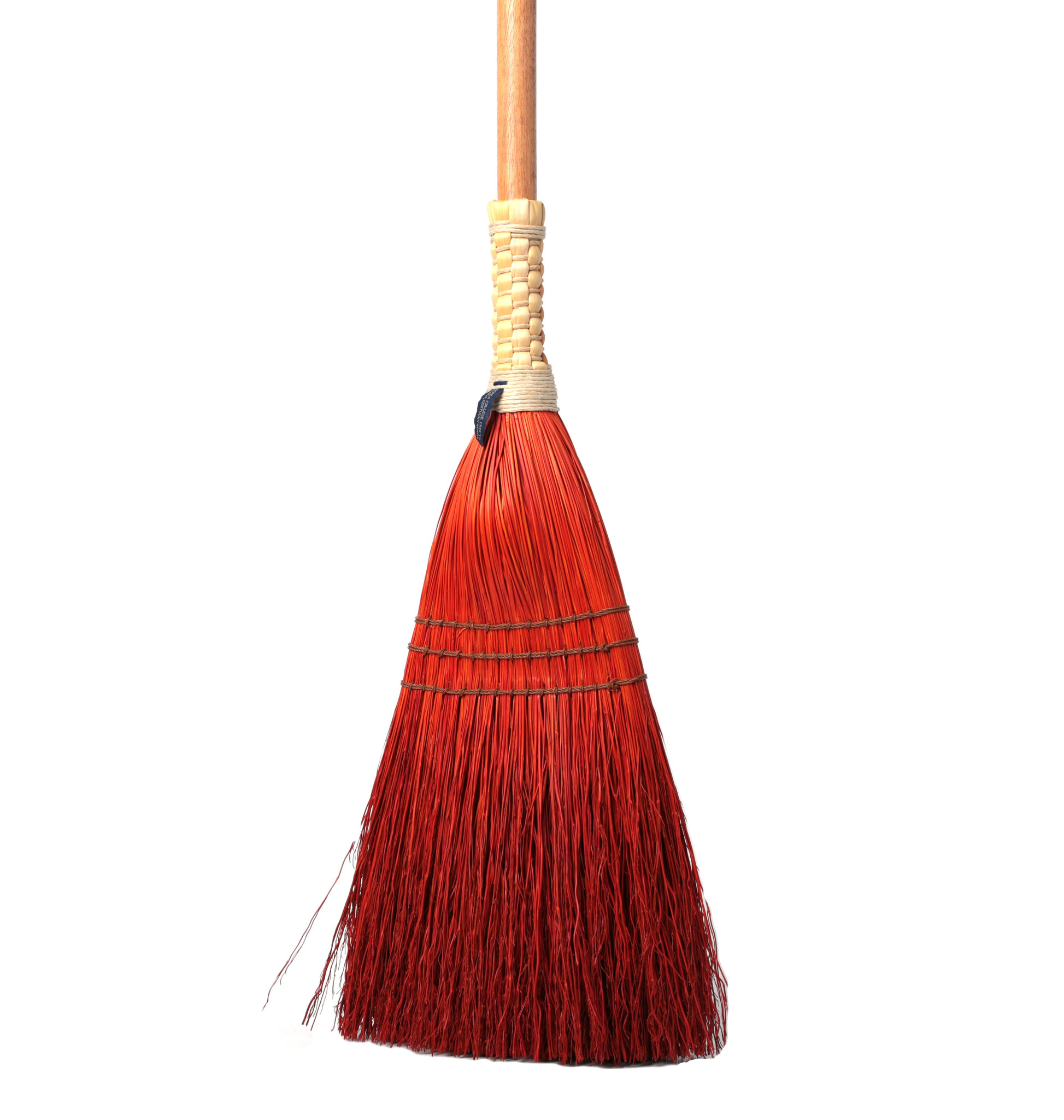 Shaker Braid Broom - Turned Handle-4