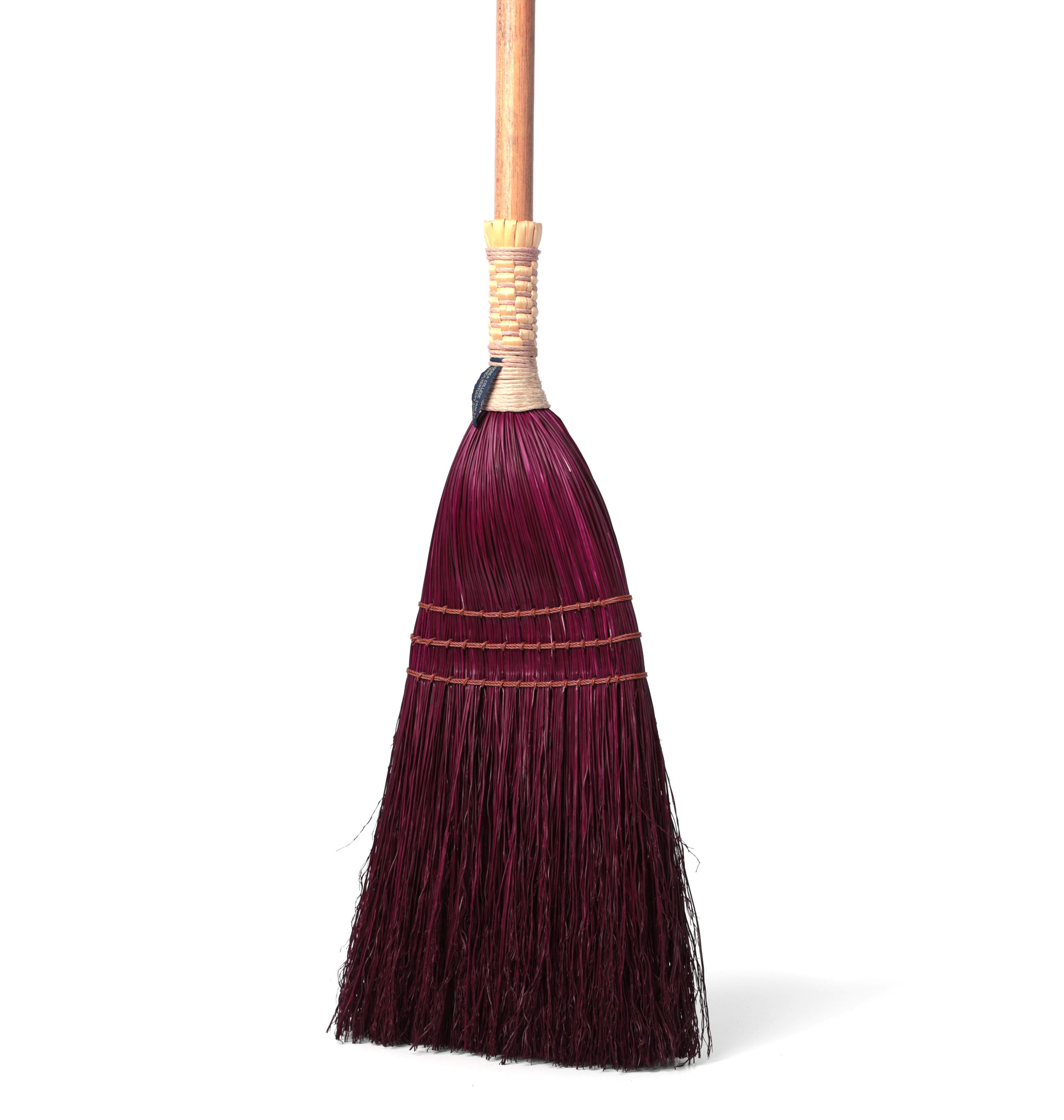 Shaker Braid Broom - Turned Handle-7