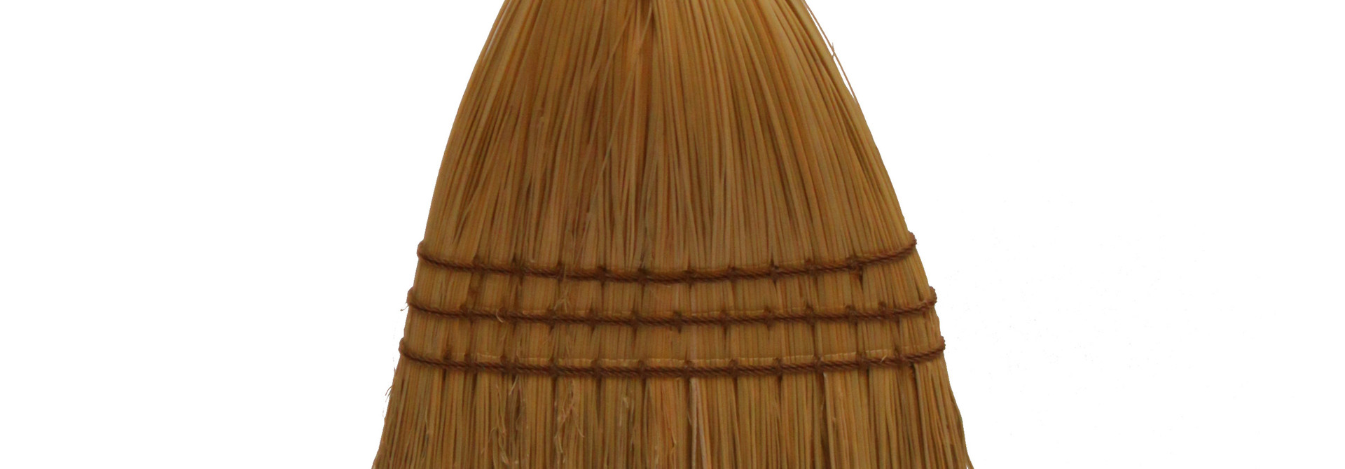 Shaker Braid Broom - Turned Handle