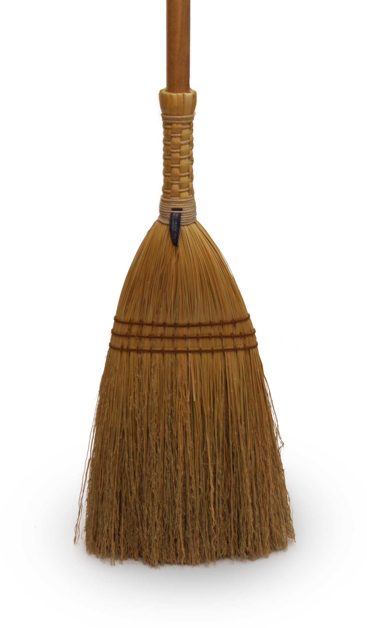 Shaker Braid Broom - Turned Handle-1
