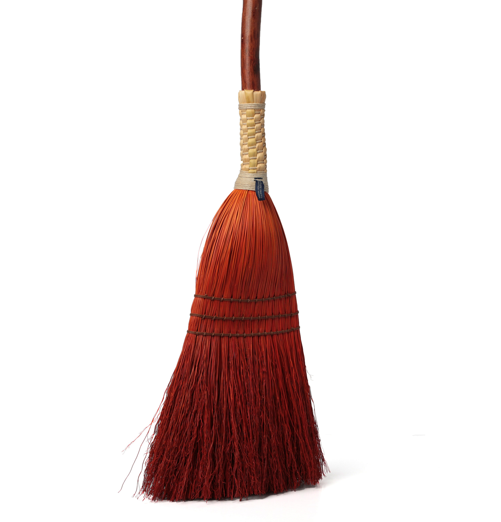 Shaker Braid Broom - Natural Handle-7