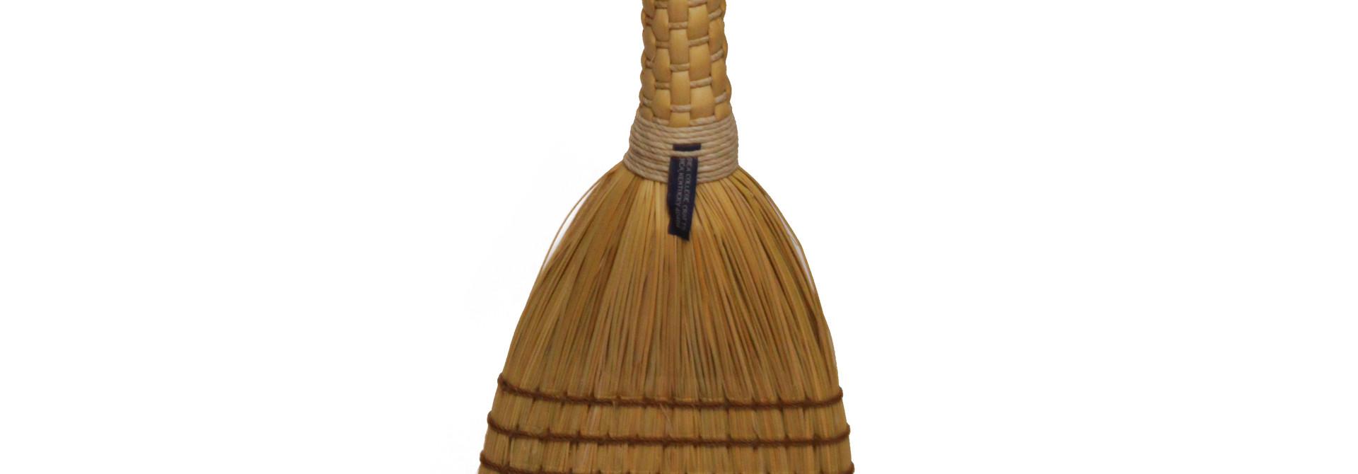 Shaker Braid Broom - Natural Handle