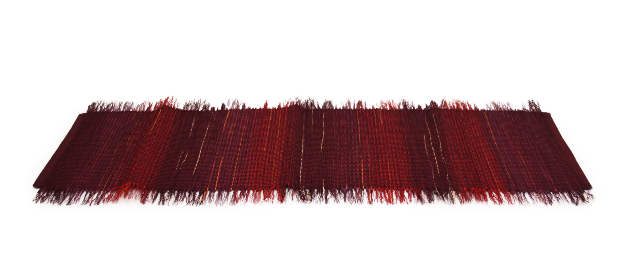 Raspberry Plum Broomcorn Table Runner-1