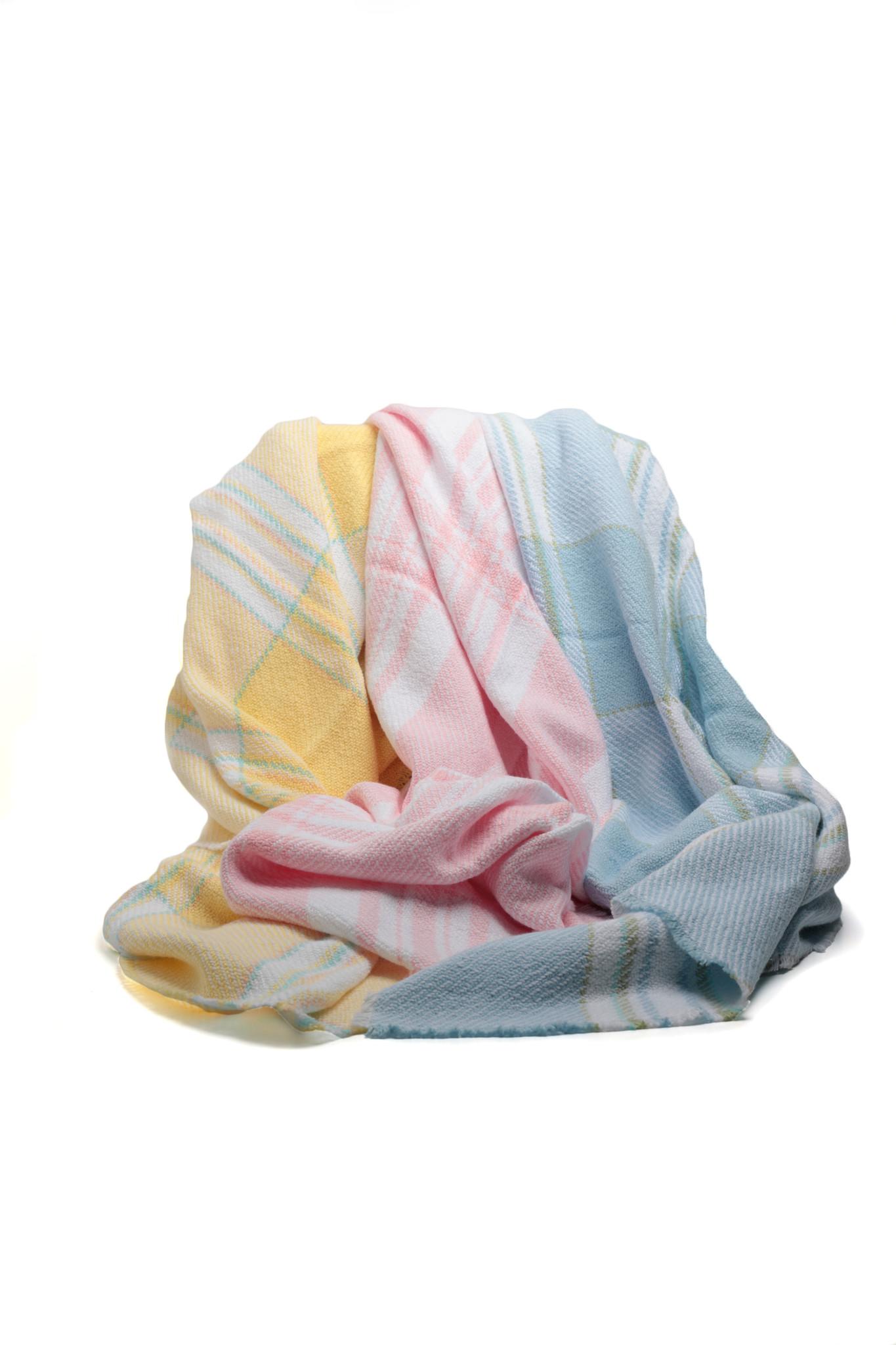 Plaid Baby Blankets-2