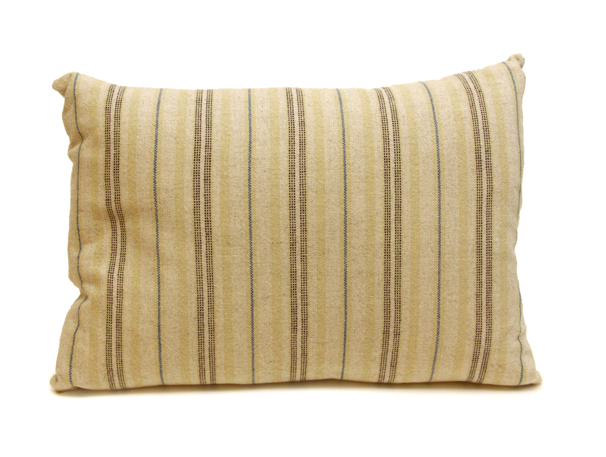 Blue Stripe Lumbar Pillow-1