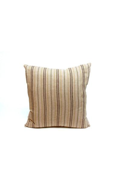 Pillow Ticking Stripe Blue/Beige