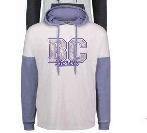Purple Floral Hoodie,-4