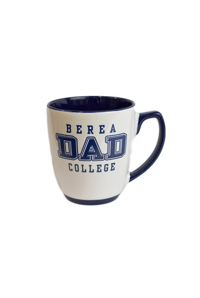 White and Blue Berea Dad mug