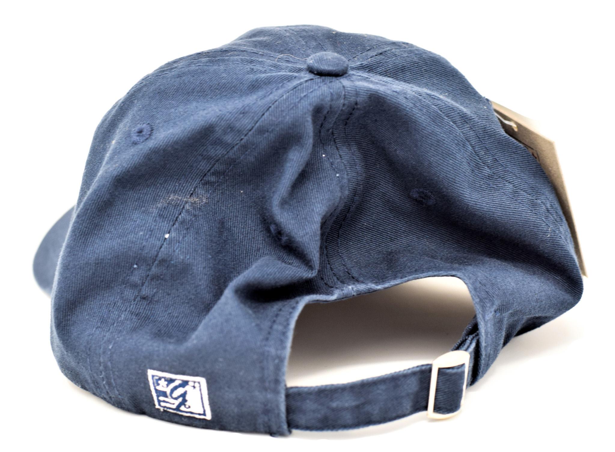 Navy Berea College Grandparent Ball Cap Strap-3