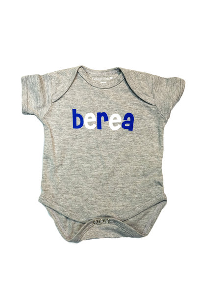 Infant,Onesie,Gray,Berea