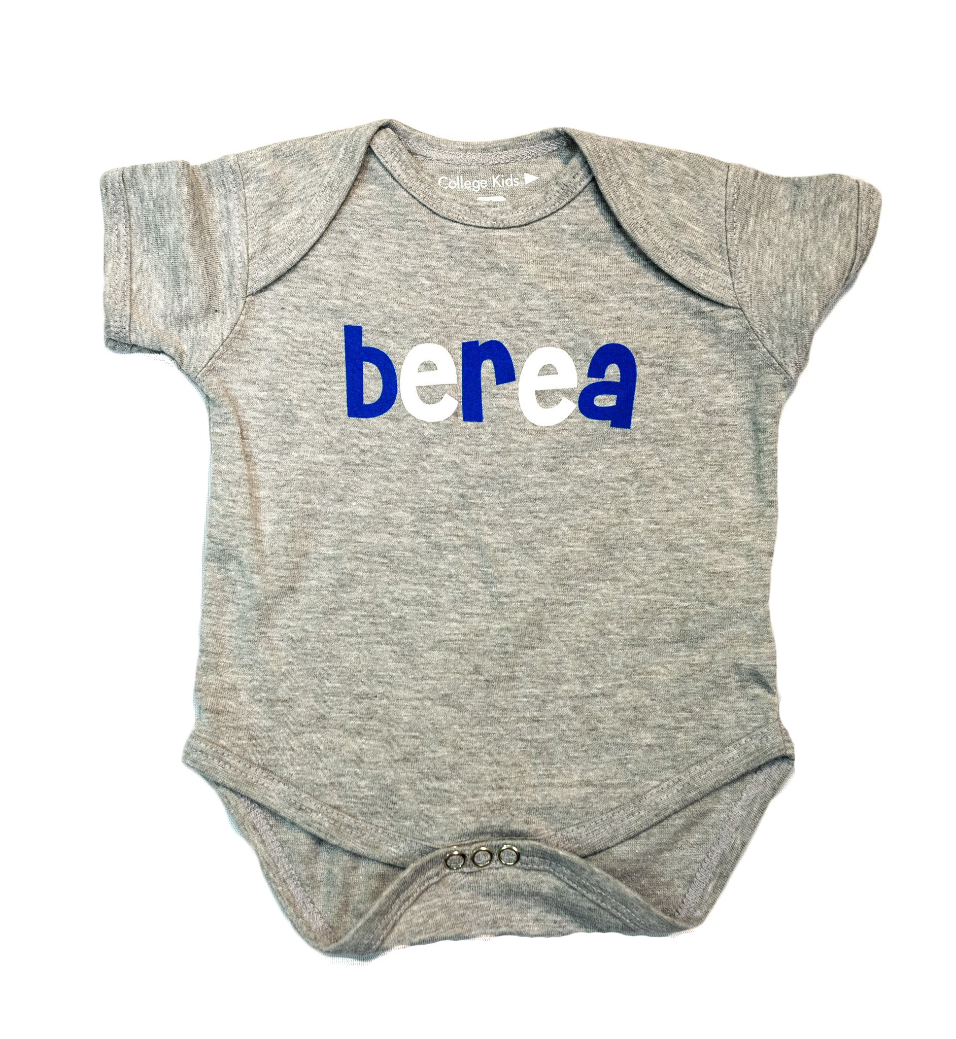Infant,Onesie,Gray,Berea-1