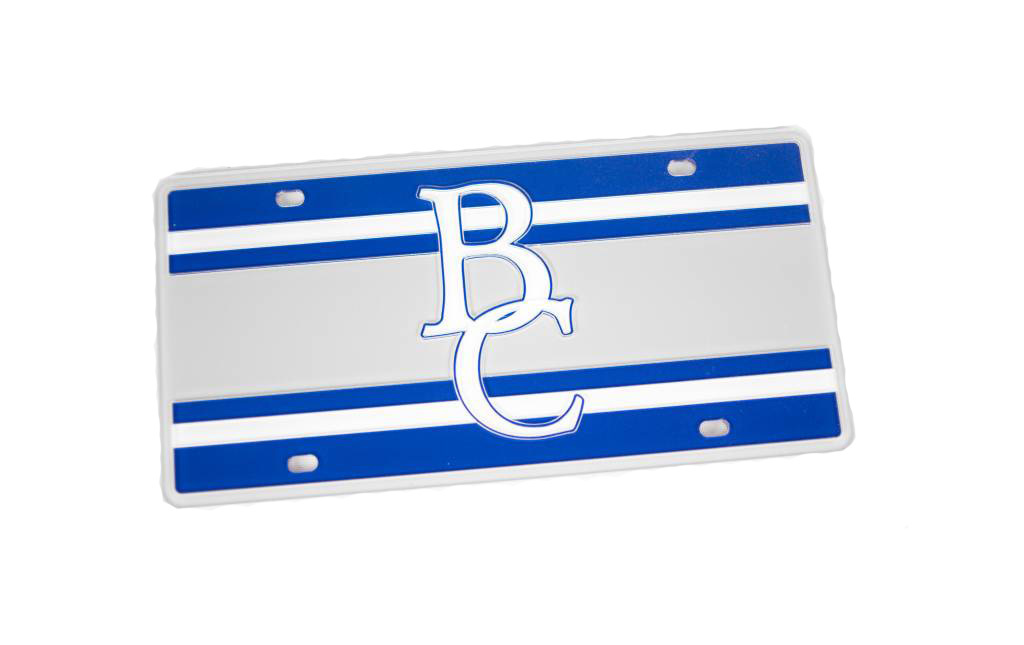 BC Stripped License Plate-2