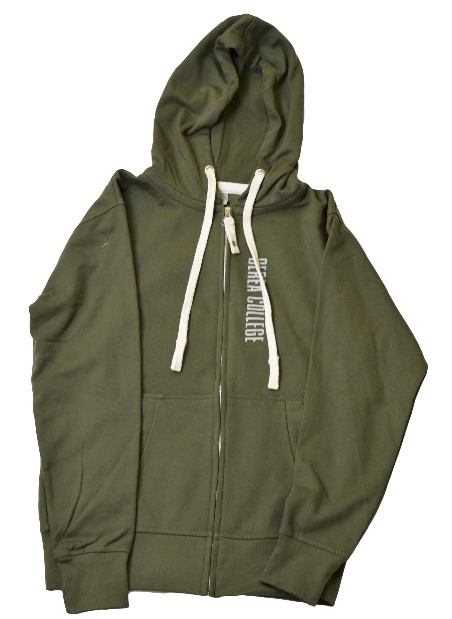 Berea College Pinnacles  Full Zip Hoodie-1