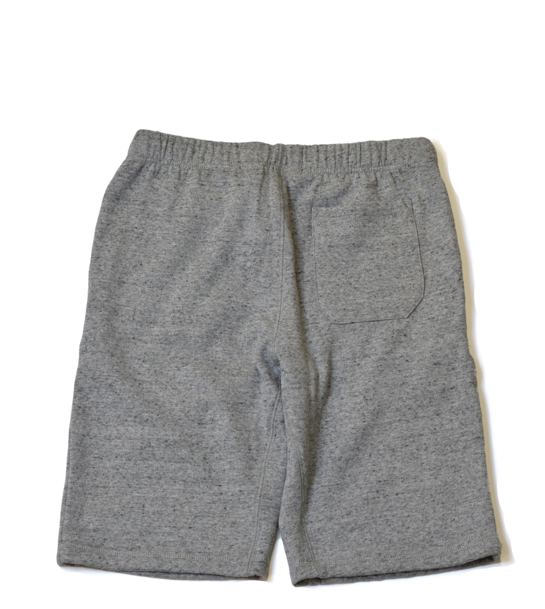 Gray Fleece Shorts-2