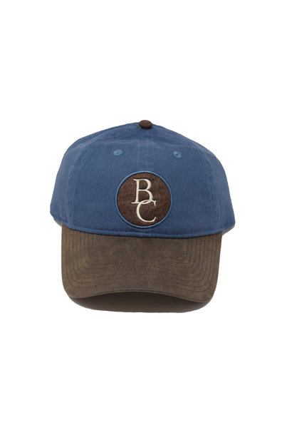 Blue and Brown BC Ball Cap