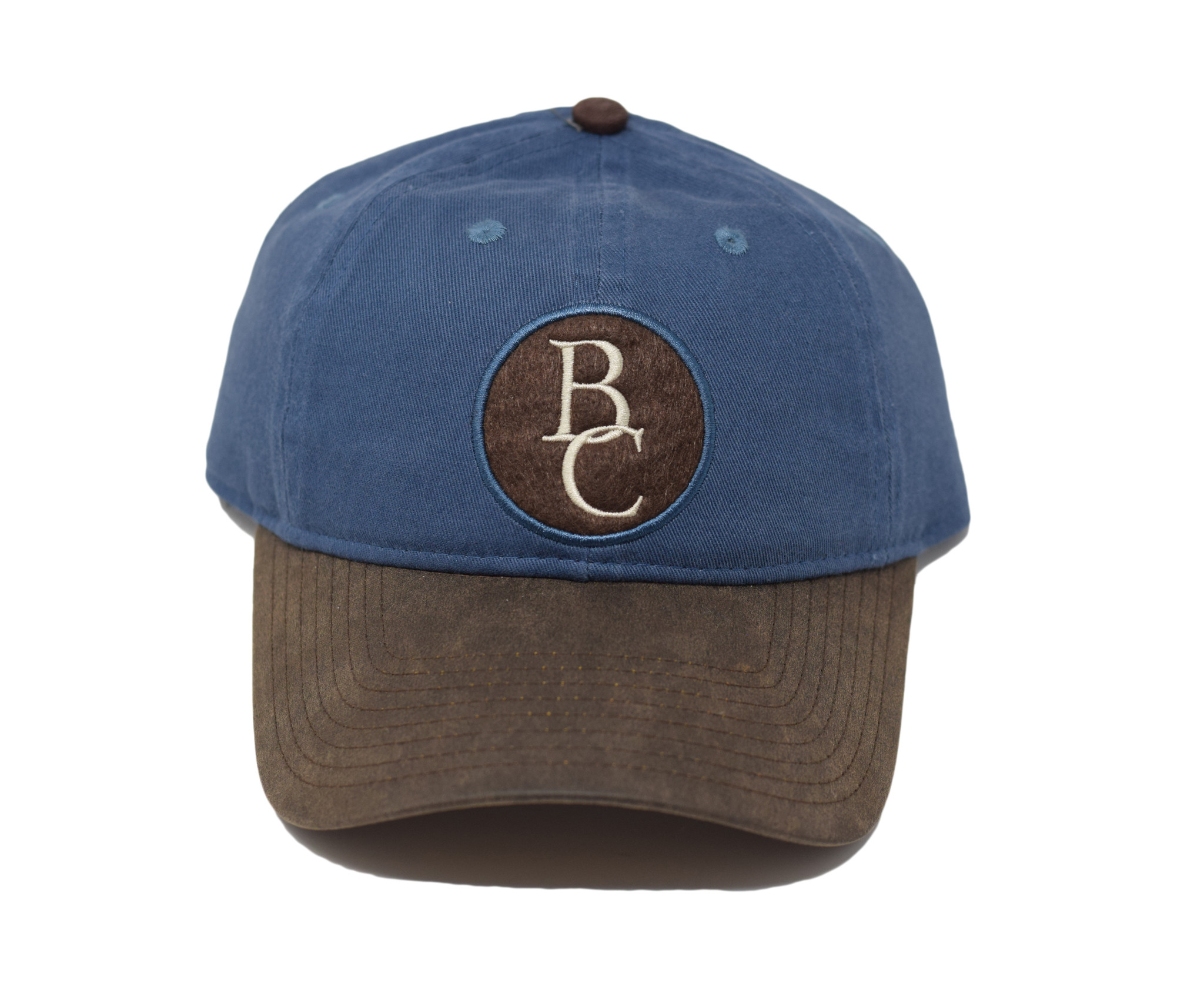 Blue and Brown BC Ball Cap-1