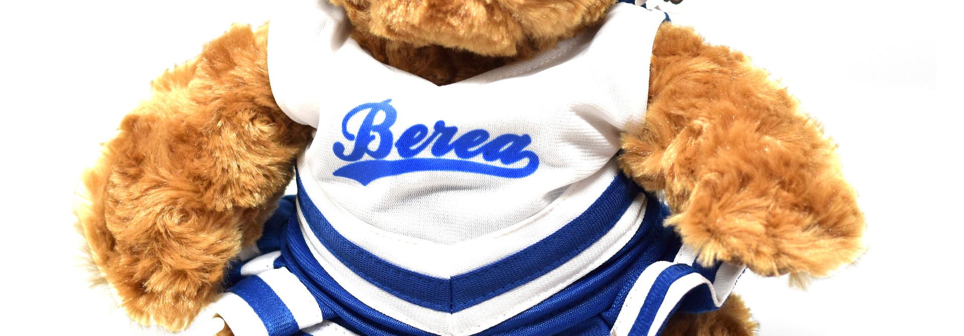 Plushy Berea Cheerleader Bear