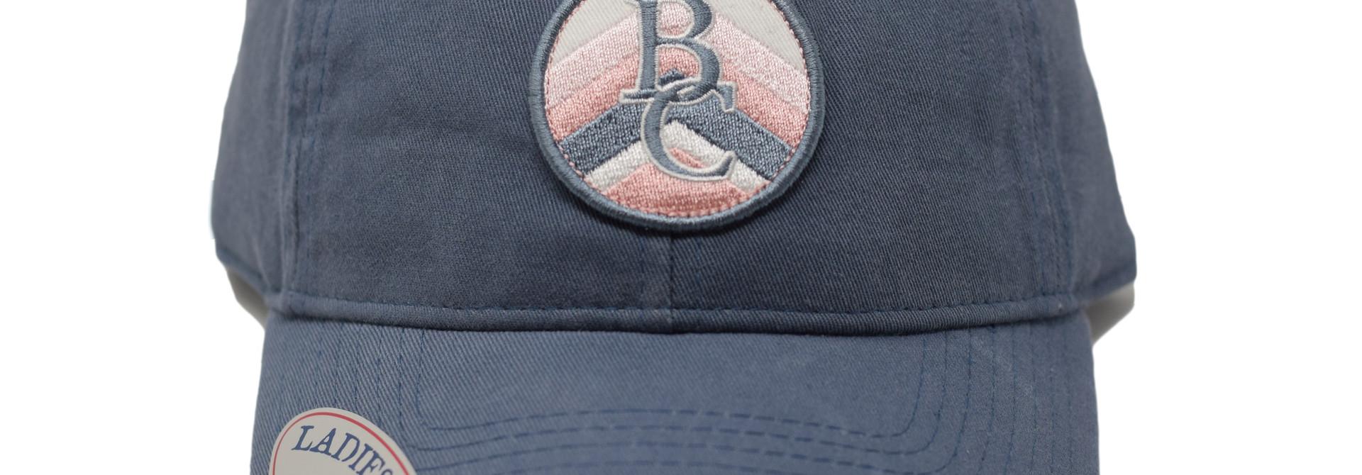 Navy & Pink BC Ball Cap
