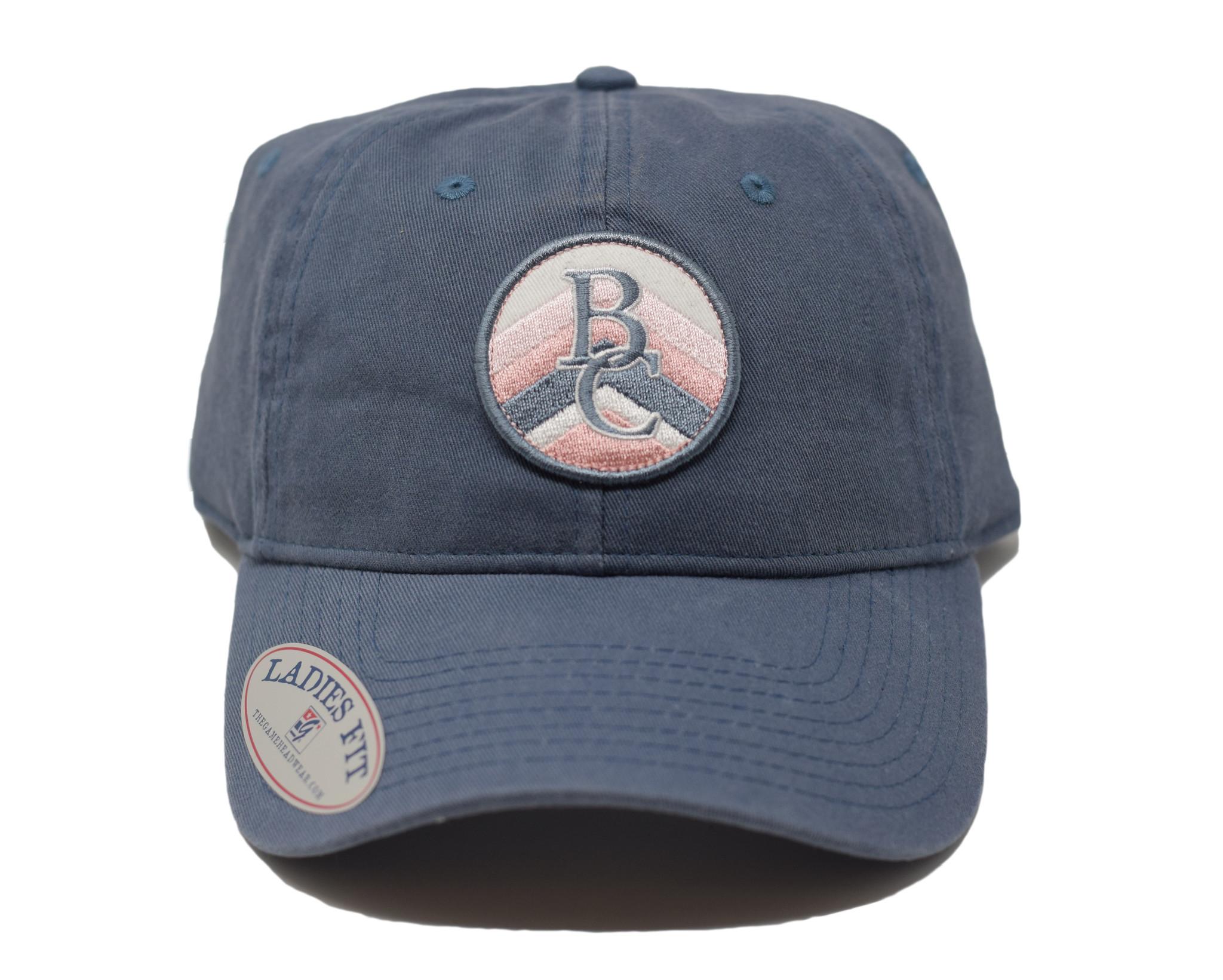 Navy & Pink BC Ball Cap-1