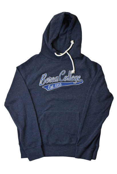 Heathered Navy Berea College 1855 hoodie