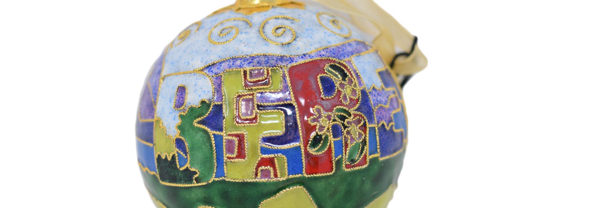 Berea Landscape Ball Ornament